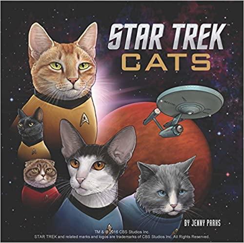 star trek cats gifts