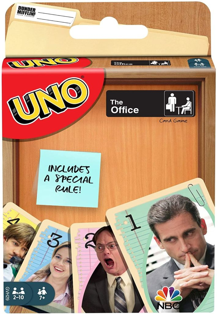 the office uno gift