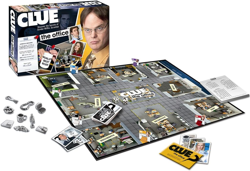 the office gifts clue