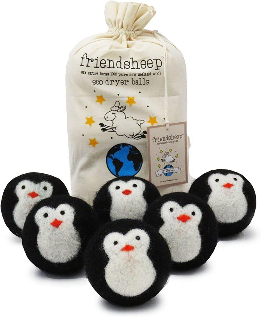 penguin gifts dryer balls