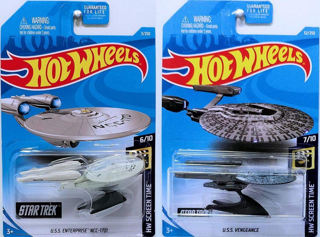 star trek hot wheels gift