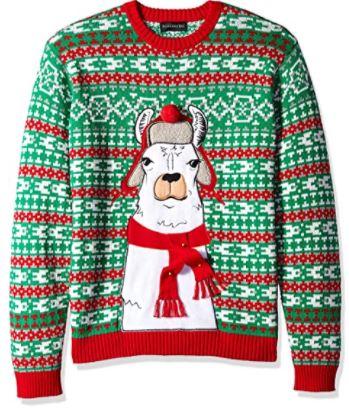 llama gifts sweater