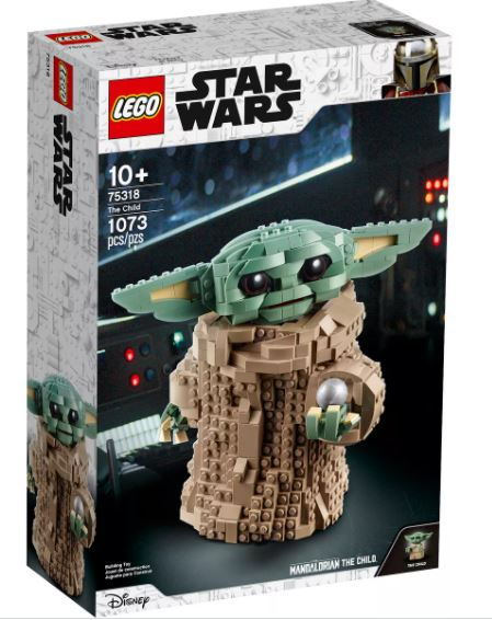baby yoda merch LEGO