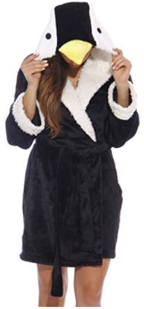 penguin gifts robe